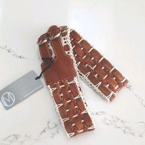 Leather Belt - Manzoni Accessories
